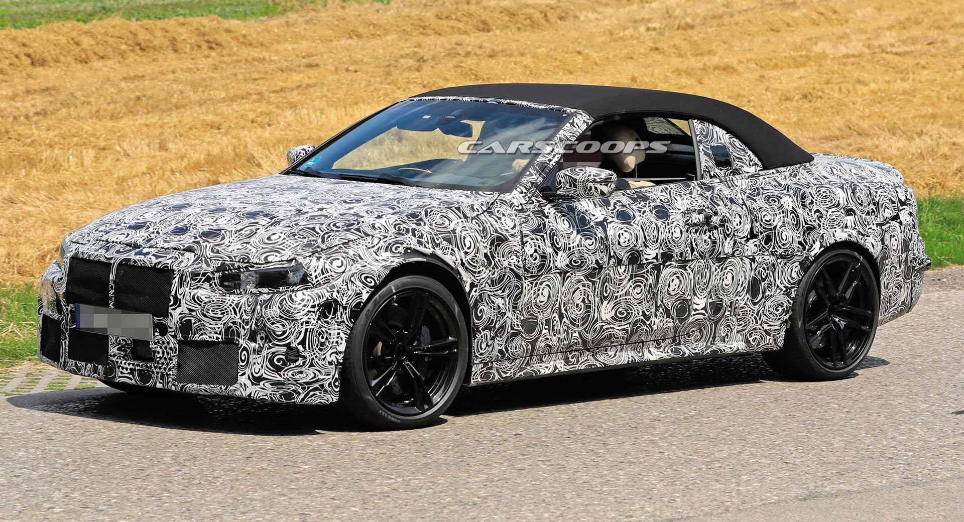 2021 bmw m4 convertible spied  should have up to 503 hp