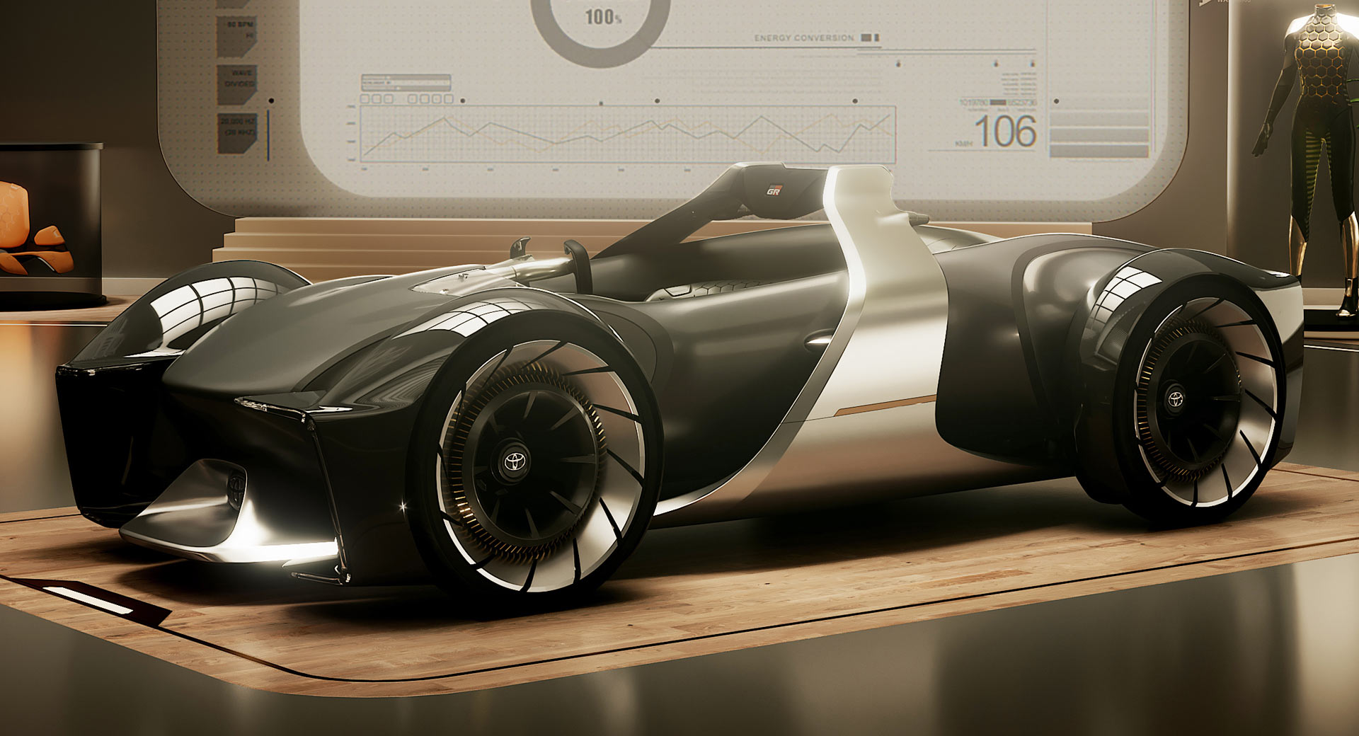 Toyota Company Latest Models >> Toyota e-Racer Concept Shows Sports Cars Have A Future ...
