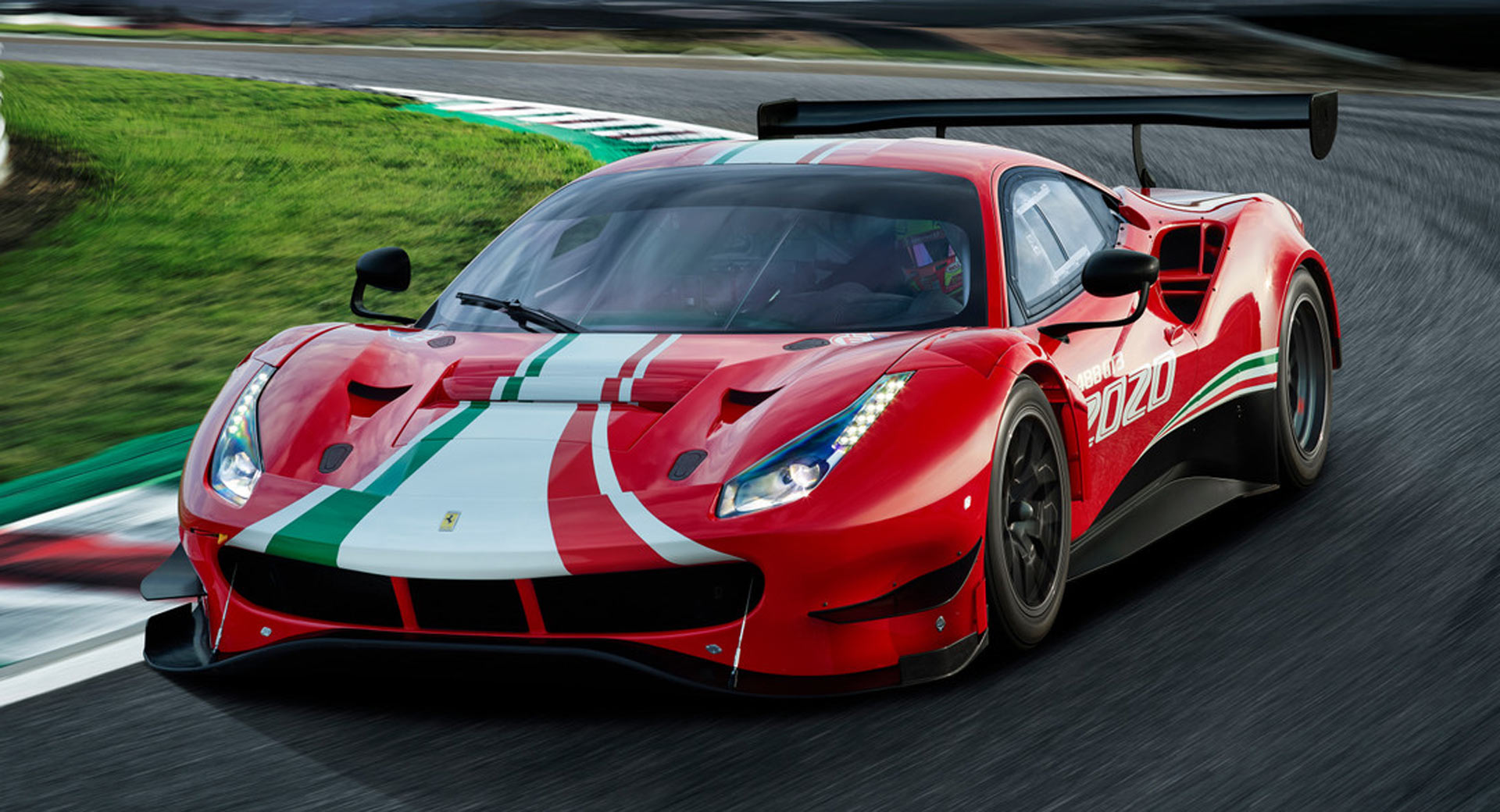 ferrari 488 gt3 evo ready to hit the tracks in 2020
