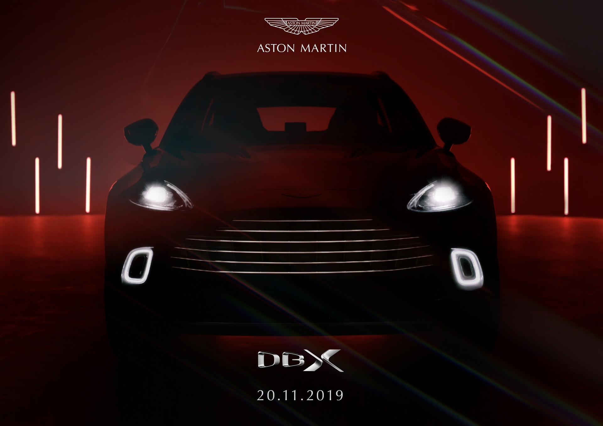 Aston Martin DBX to debut in Beijing on November 20