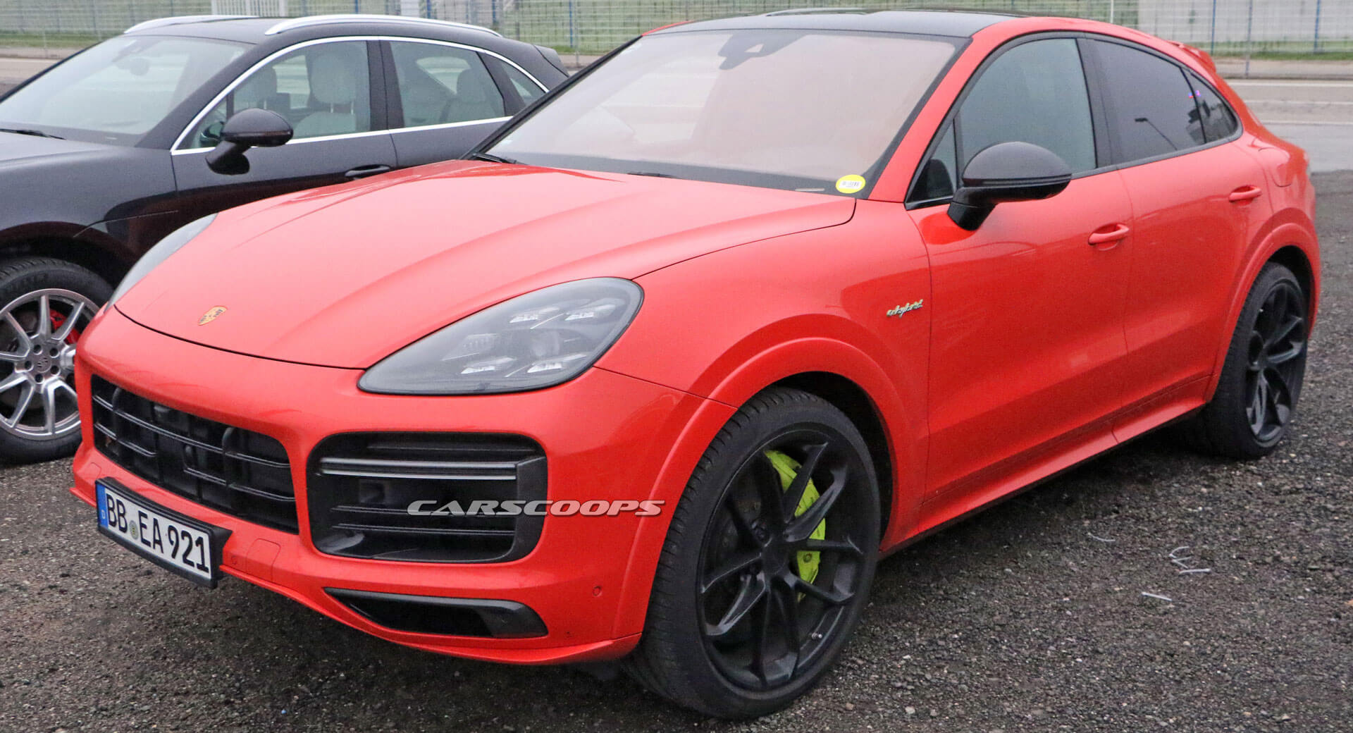 Is Porsche Testing An 800 Hp Variant Of Its Cayenne Turbo S E Hybrid Coupe Carscoops