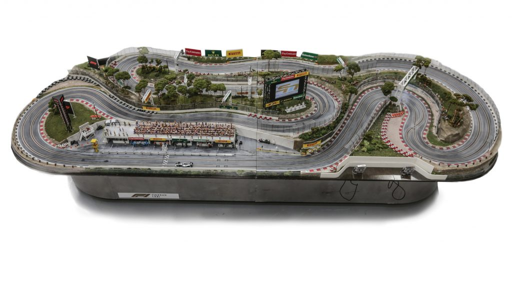 Admit It, This Massive 1:32 Scale F1 Slot Car Race Track ...