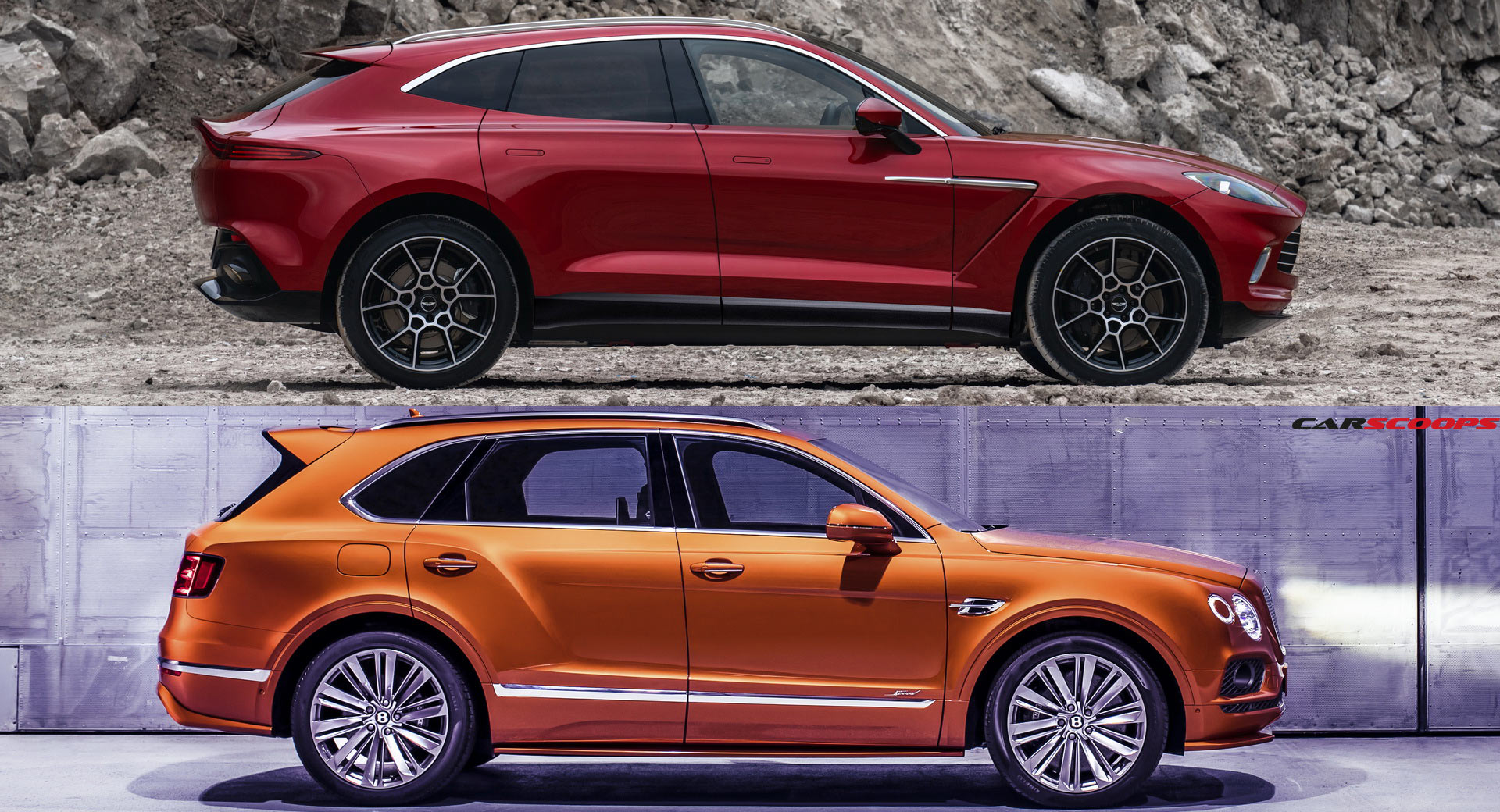 Aston Martin Dbx Or Bentley Bentayga We Line Em Up You Call Out The Winner Carscoops