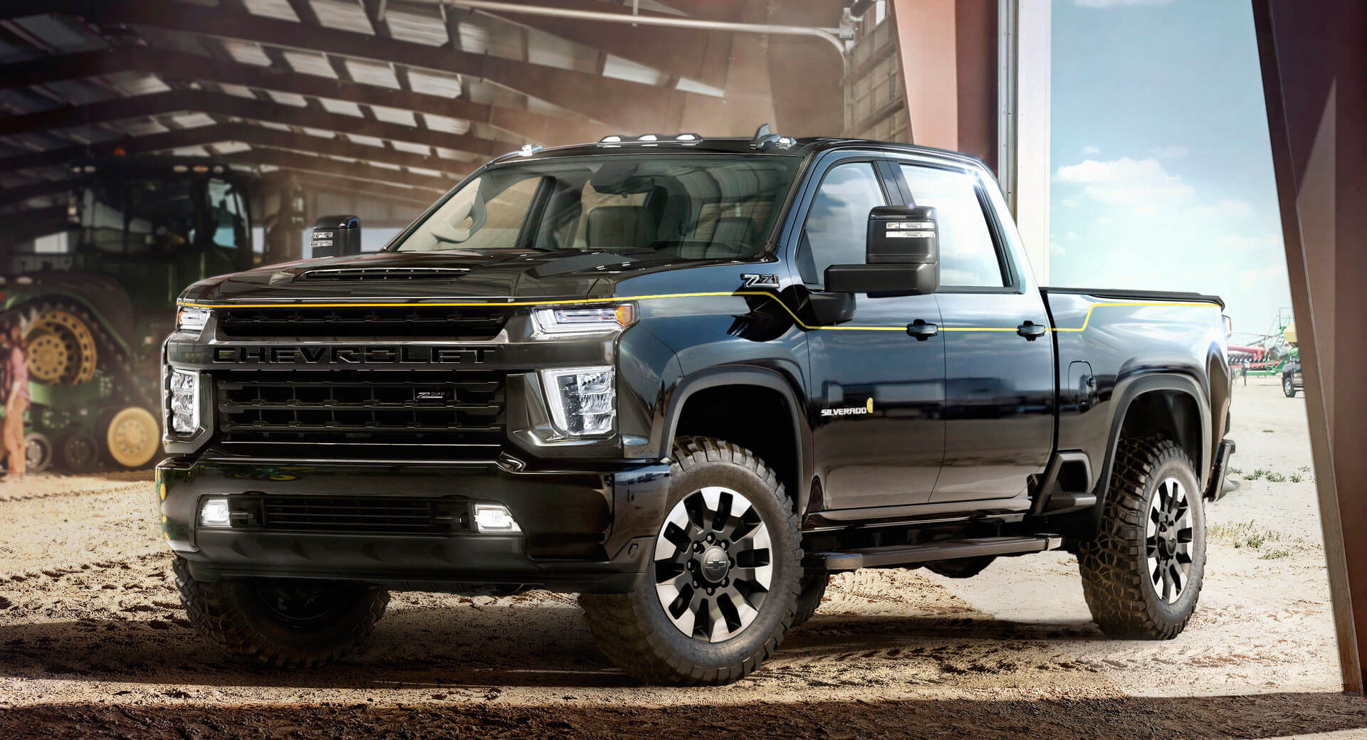 Chevy Turns 2016 SEMA Concept Into 2021 Silverado Carhartt ...