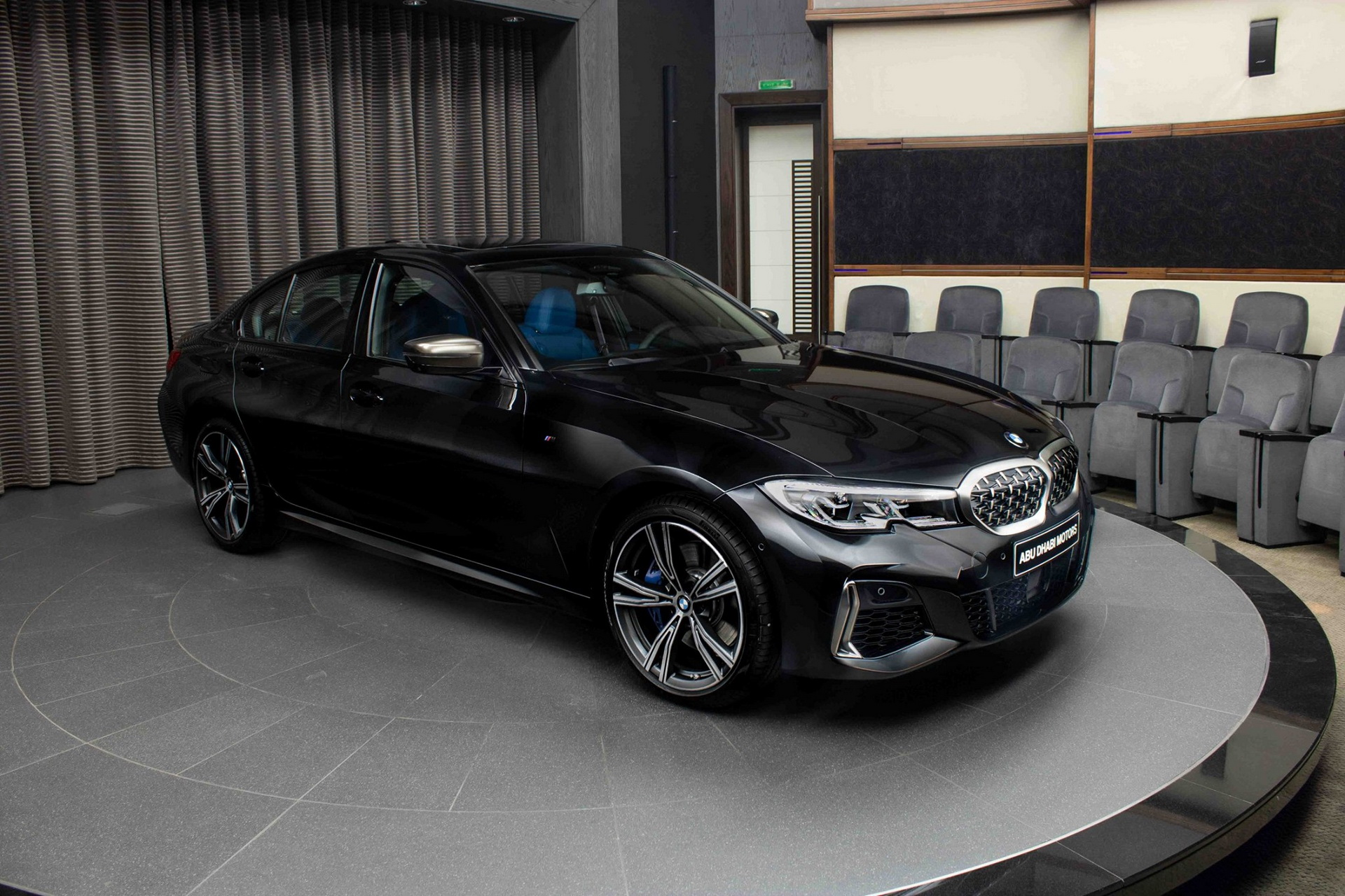 2020 Bmw M340i Shows Up In Sapphire Black With Plenty Of Blue To Go Around Carscoops