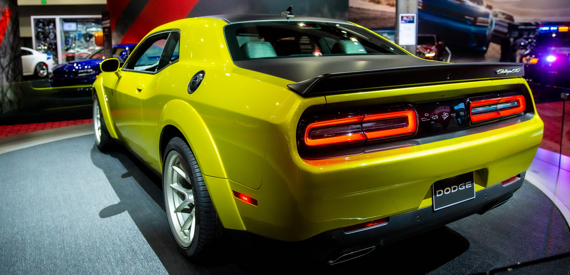 Dodge Celebrates Challenger Immortality With 50th Anniversary Edition Carscoops