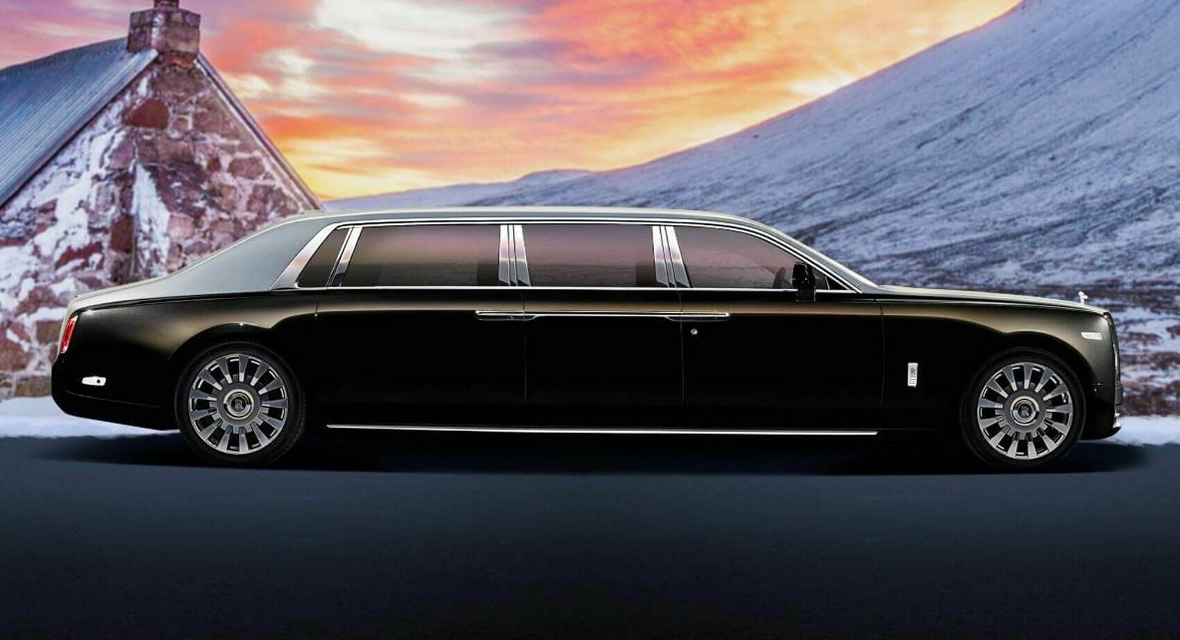 23 Footlong Armored Rolls Royce Phantom Limo Is A Dictator S Wet Dream Carscoops