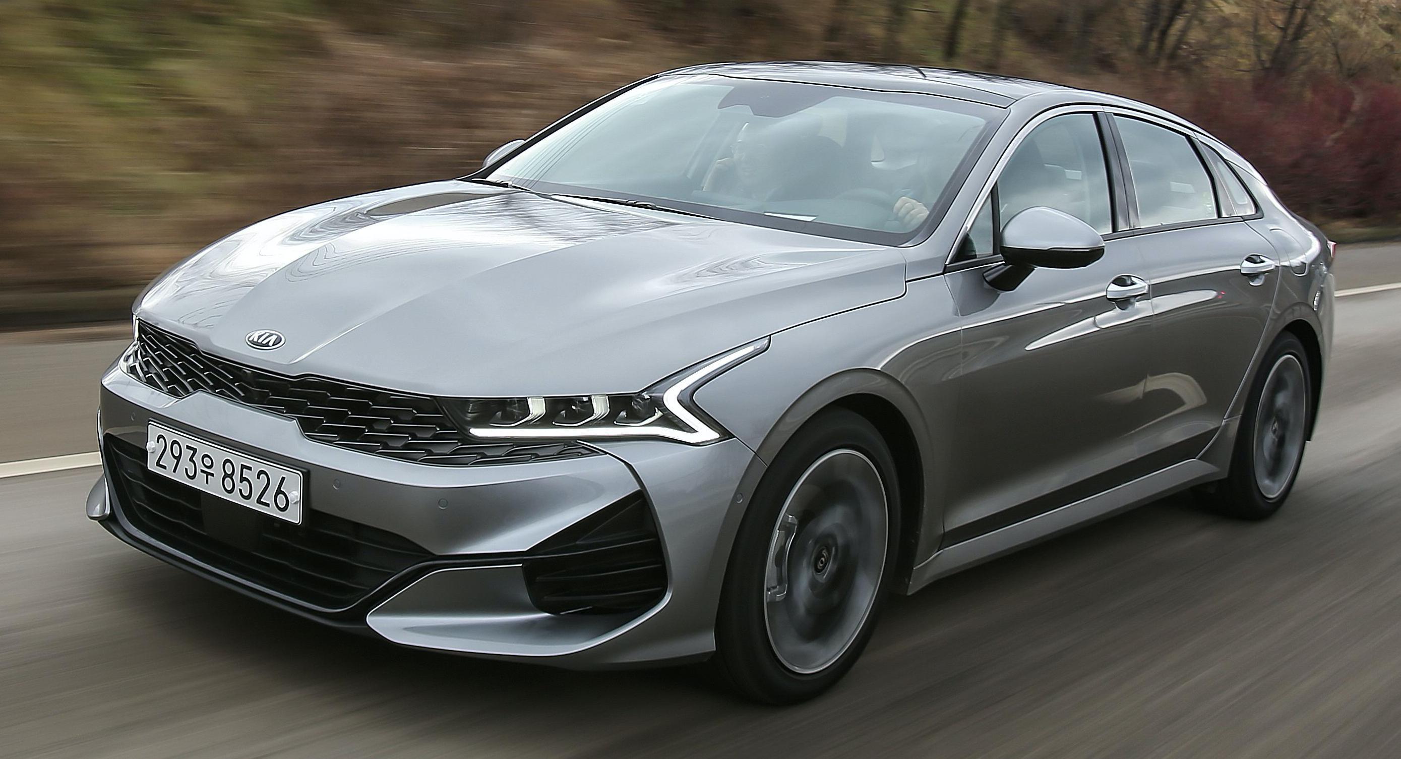 2021 Kia Optima Hybrid Speed Test