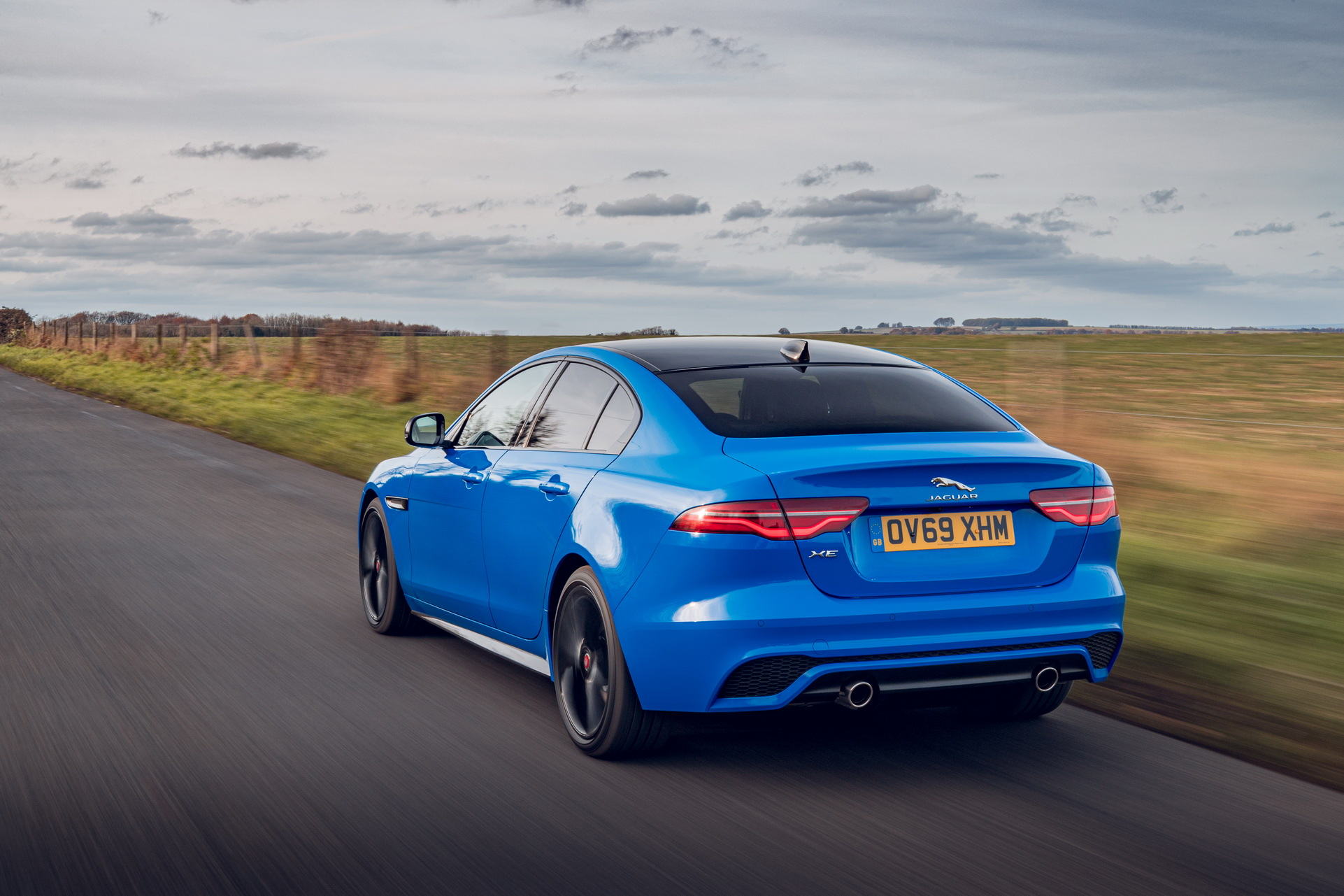 2020 Jaguar Xe Reims Edition Wears French Racing Blue Paint
