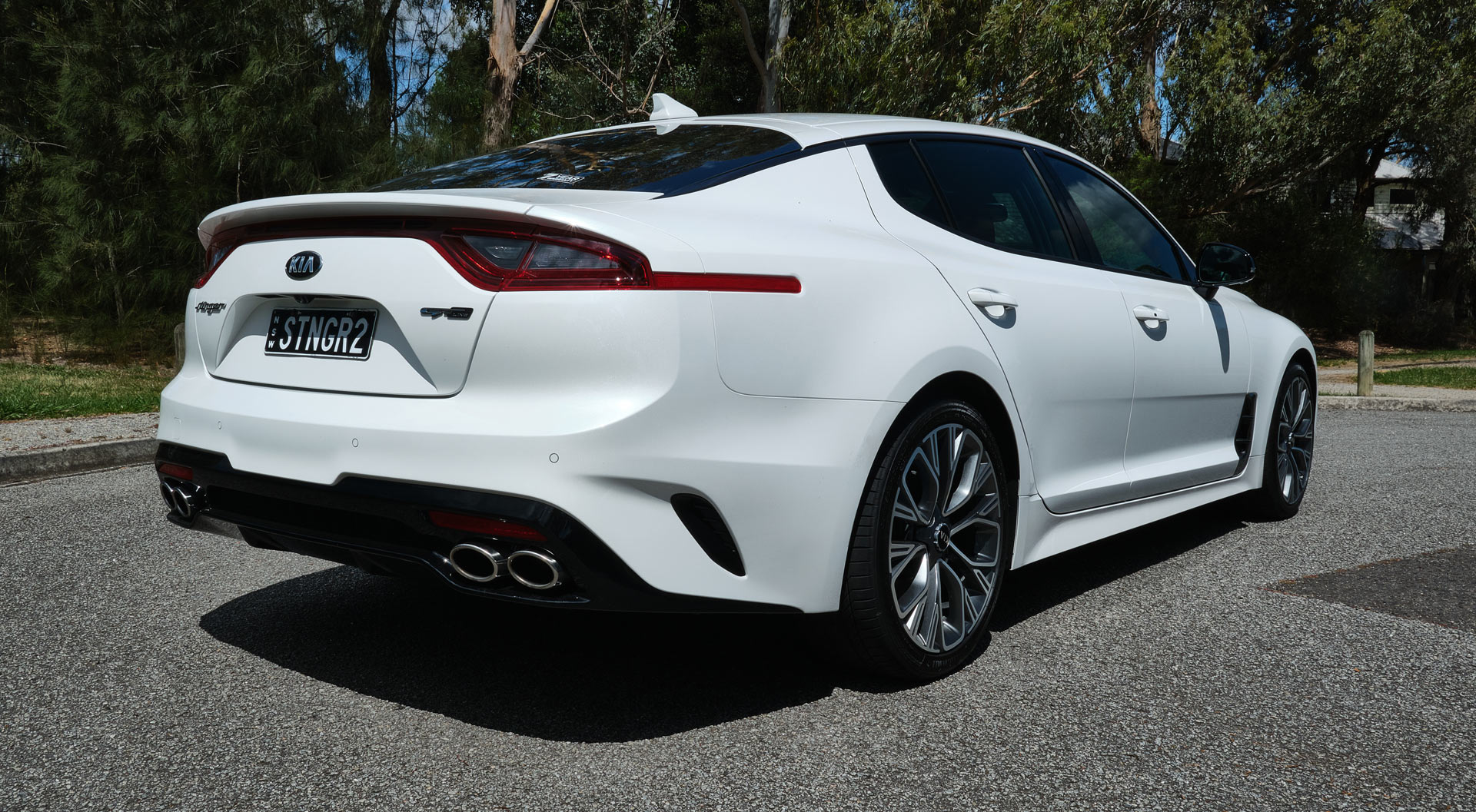 driven: 2020 kia stinger 2.0l gt-line surprises as a