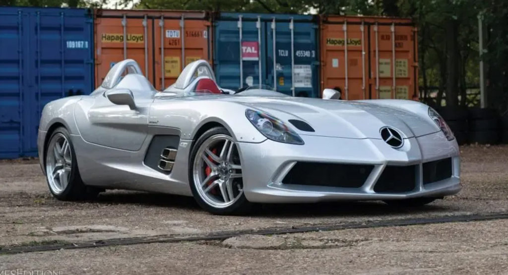 315 Mile Mercedes-Benz SLR McLaren Stirling Moss Desperately Needs Someone  To Drive It | Carscoops