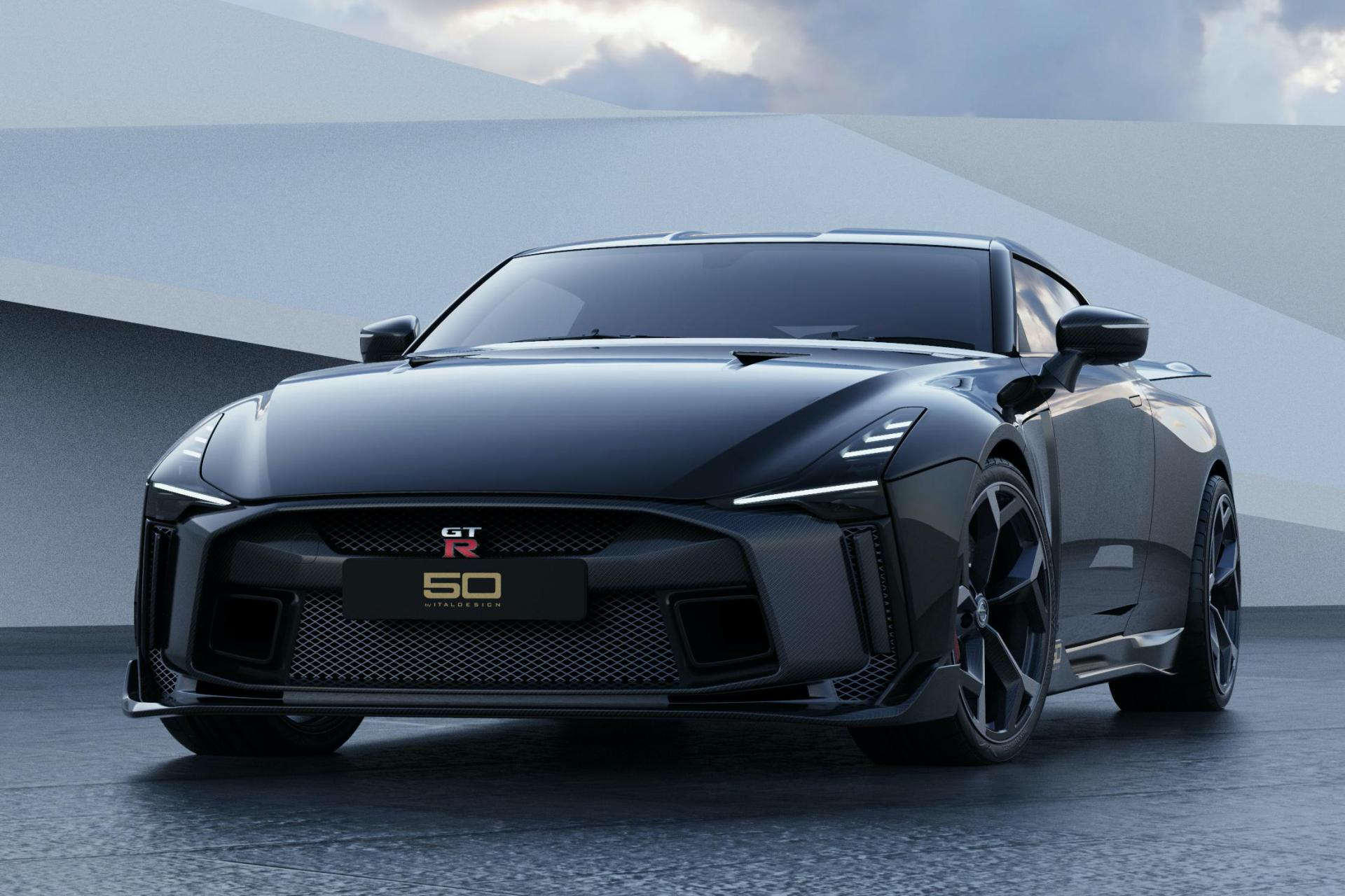 Nissan GT-R50 By Italdesign Limited Edition Unveiled In Production Guise