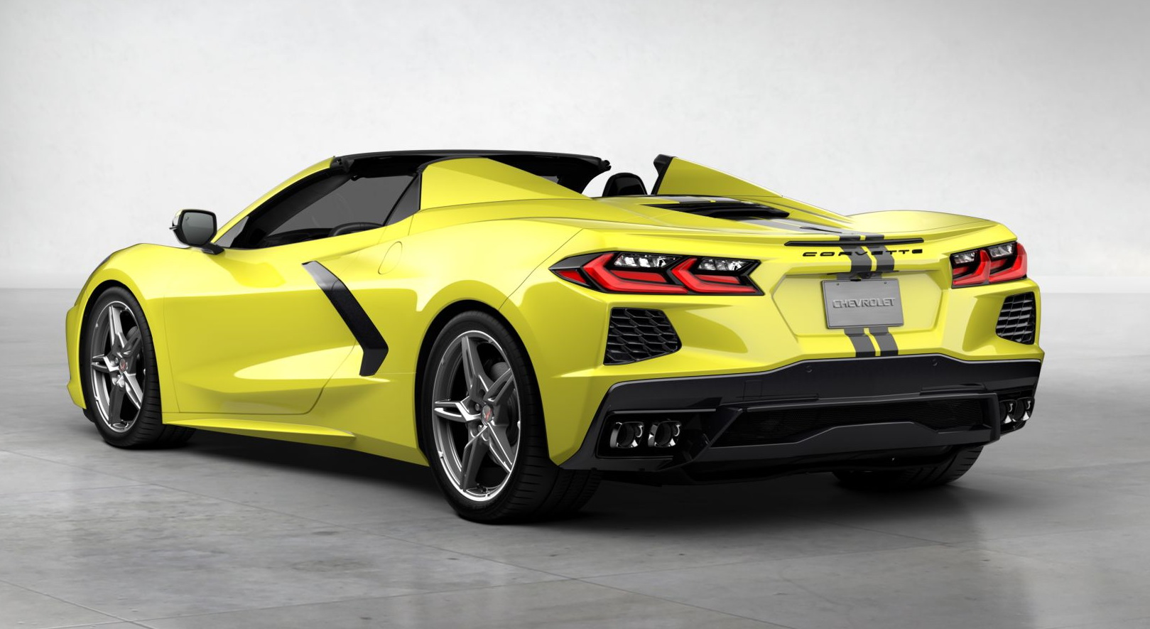 First Chevrolet C8 Corvette Stingray sells at auction