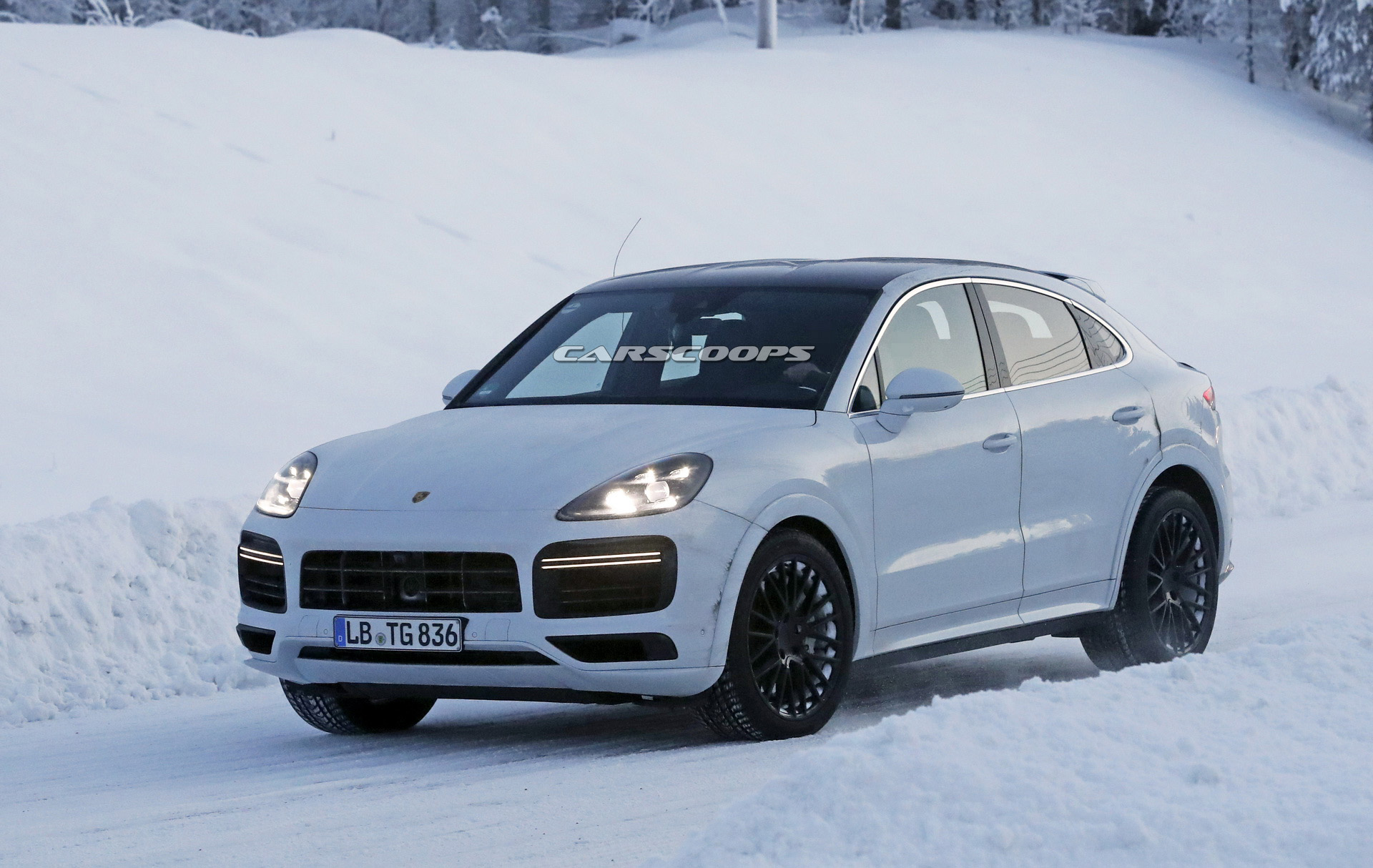 Porsche Working On New Cayenne Coupe Flagship And Here S More Proof Carscoops