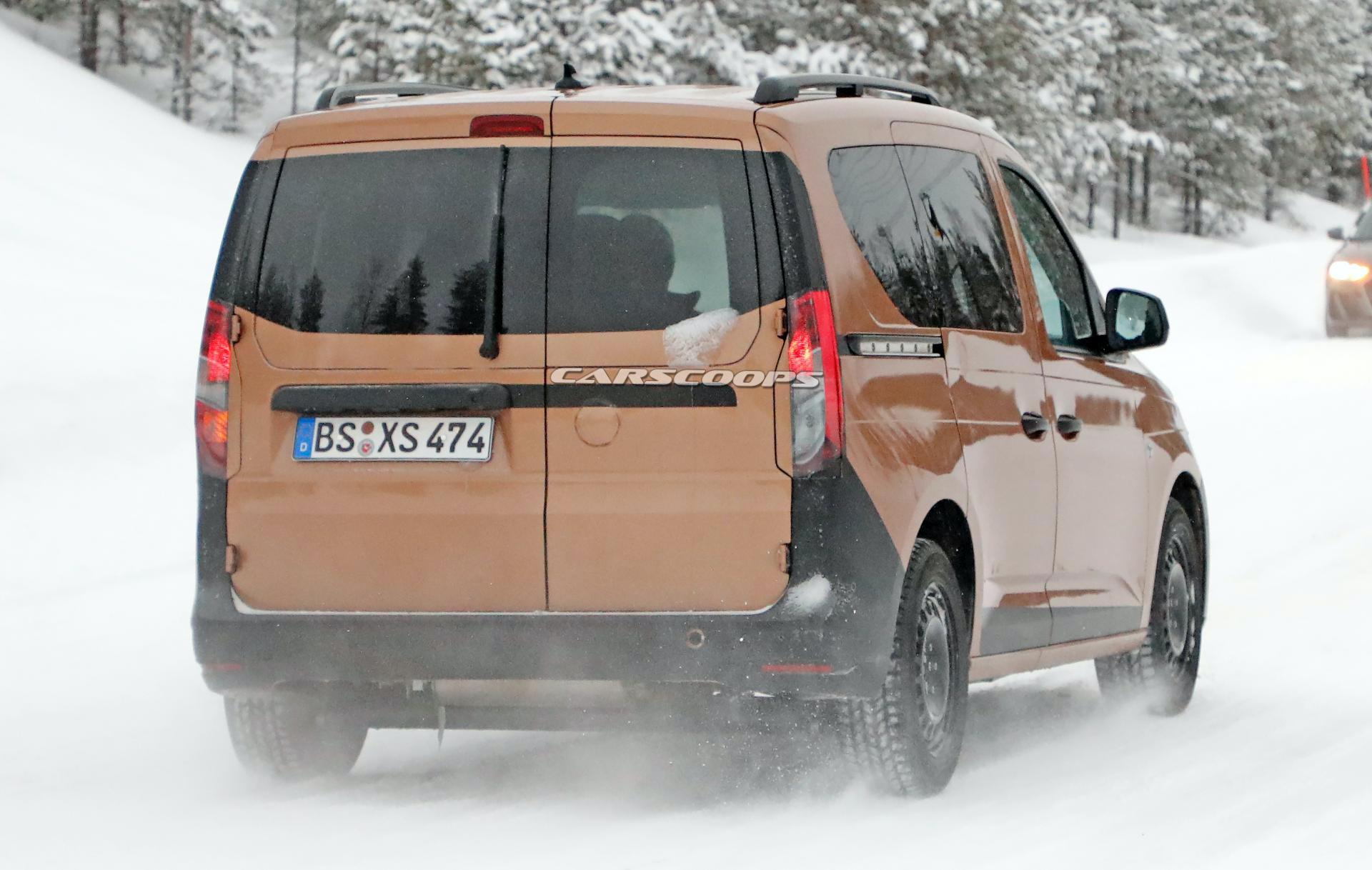 2021 vw caddy sheds camouflage  doesn u0026 39 t reveal all of its secrets just yet