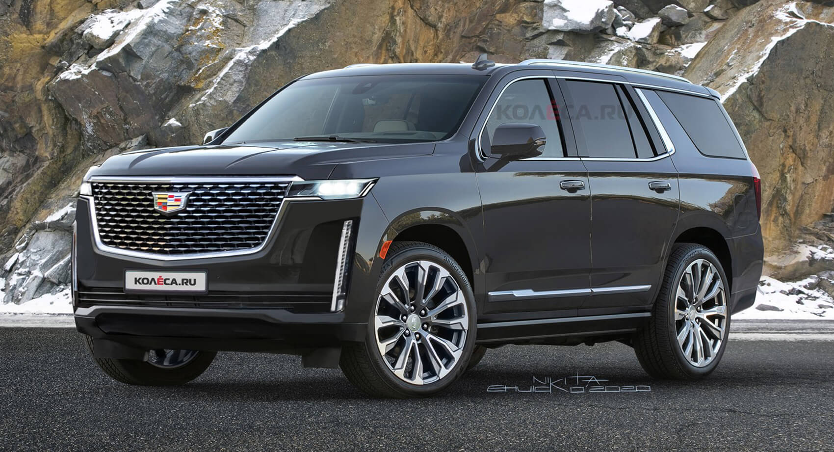 The New 2021 Cadillac Escalade Should Look A Lot Like This ...