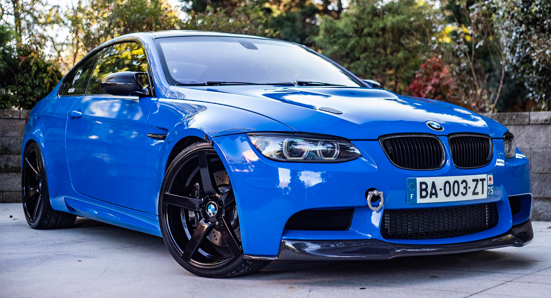 Supercharged 2011 Bmw M3 Competition Is A Blue Gem If Aftermarket Mods Is Your Thing Carscoops