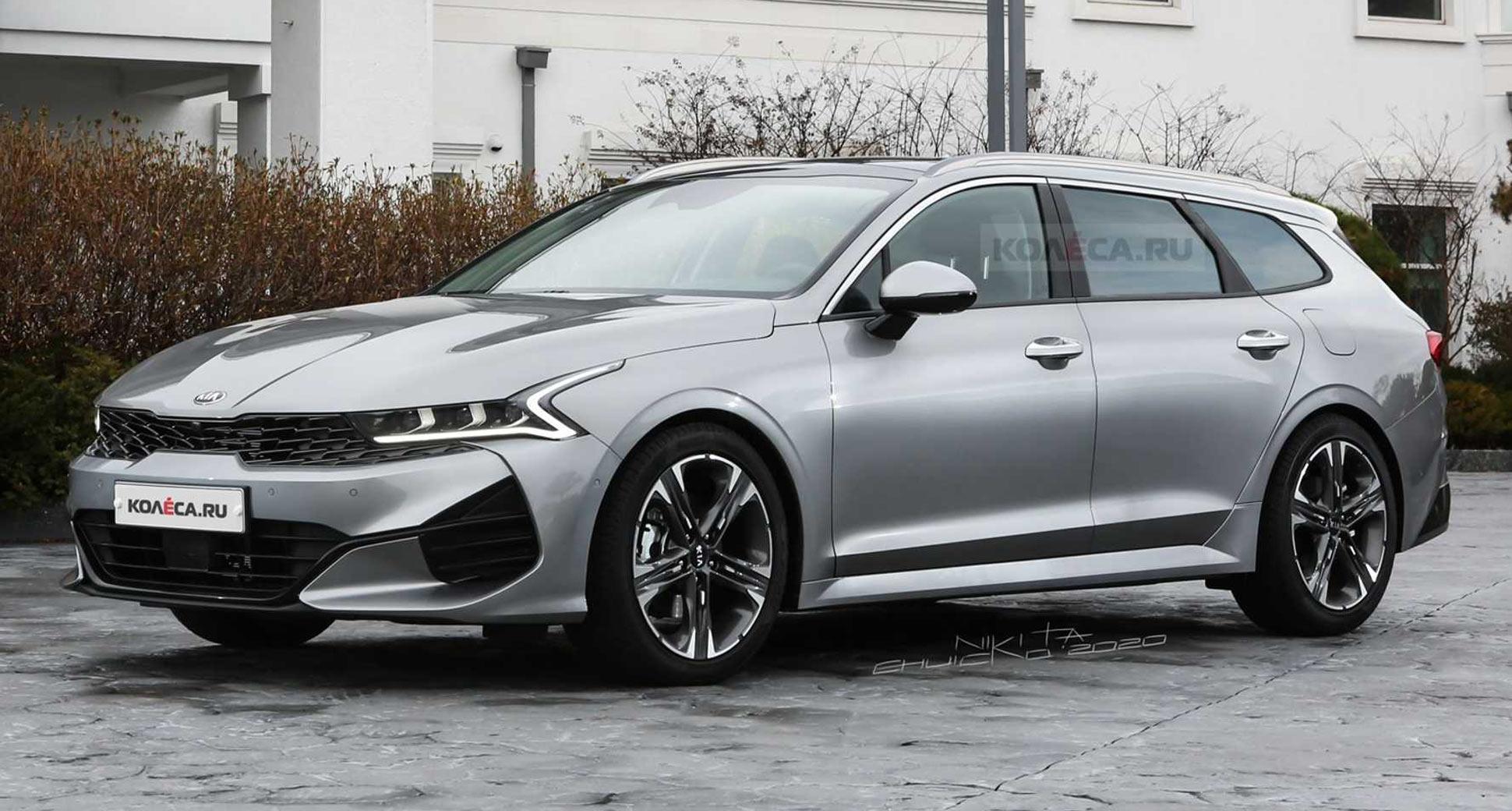new 2021 kia optima k5 looks seductive as a sports wagon carscoops 2021 kia optima k5 looks seductive