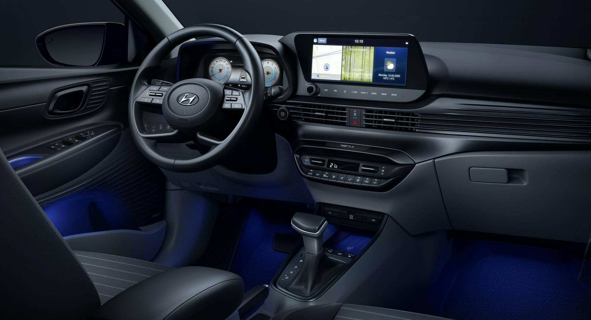 Here's Our First Look Inside The 2020 Hyundai i20 - CarScoops
