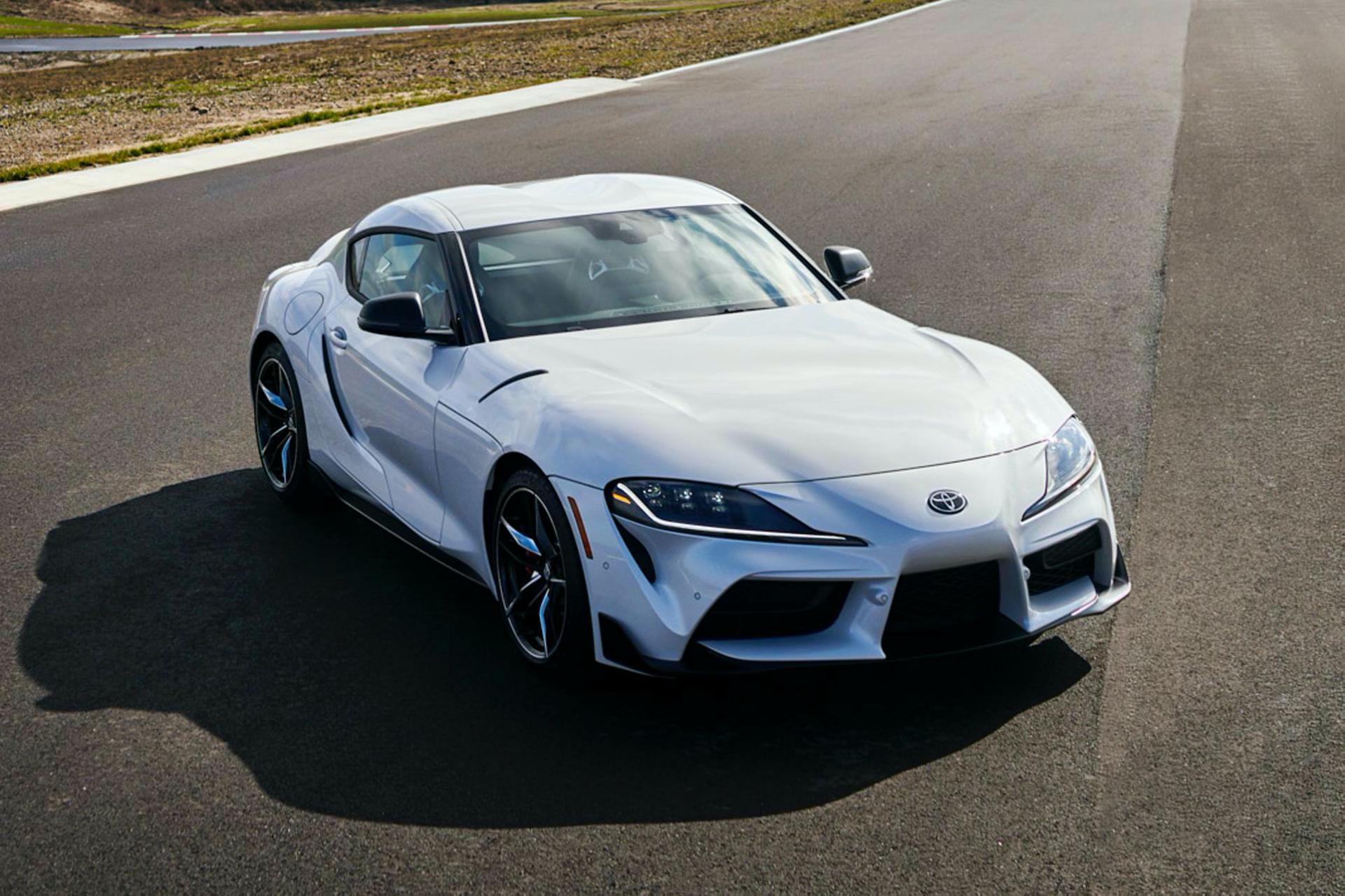 Toyota GR Supra in United States  - 47 hp more, 2.0L option