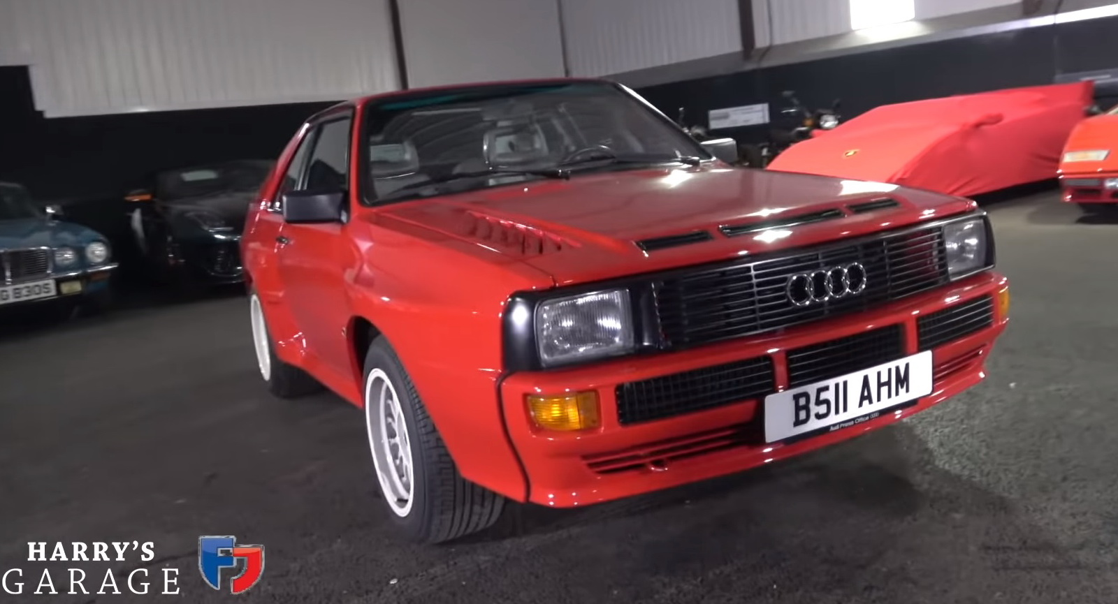 Here S What A 500 000 1980s Audi Sport Quattro Is Like To Drive Carscoops