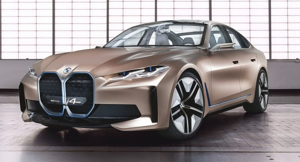 BMW Concept i4 Previews Production Model Coming In 2021 Price and Release Date