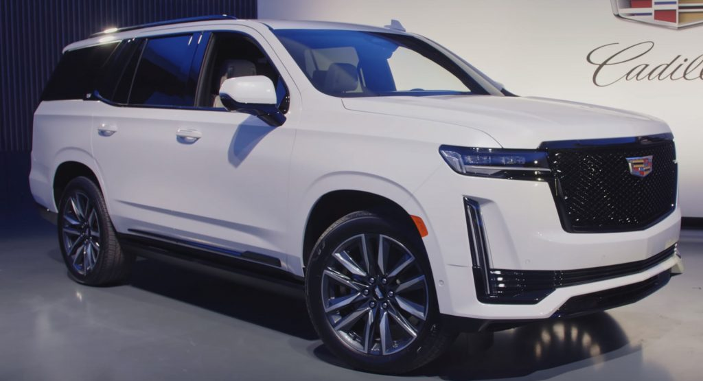 first hands on videos of cadillac's new 2021 escalade