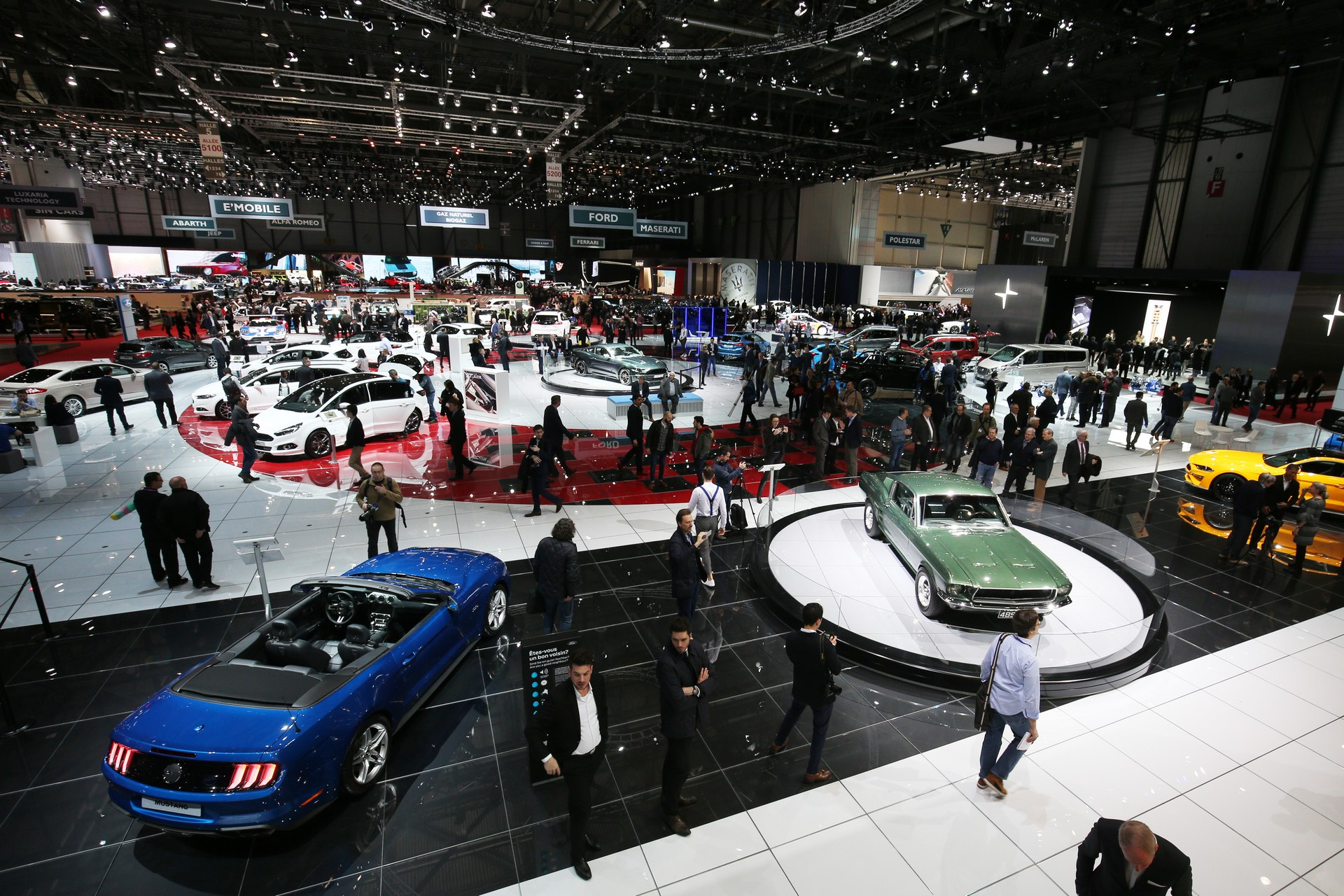 Geneva auto show canceled due to coronavirus restrictions