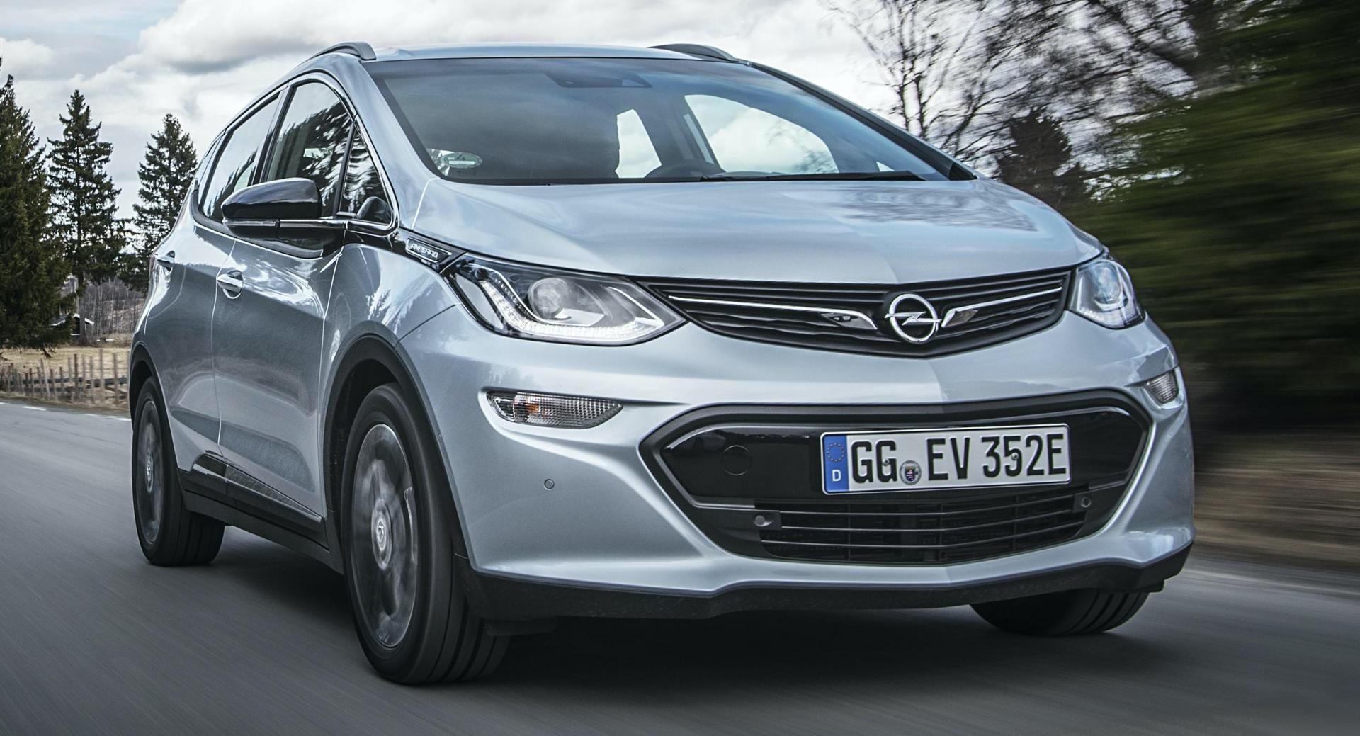You Can Still Buy The Opel Ampera-e In Netherlands For € ...