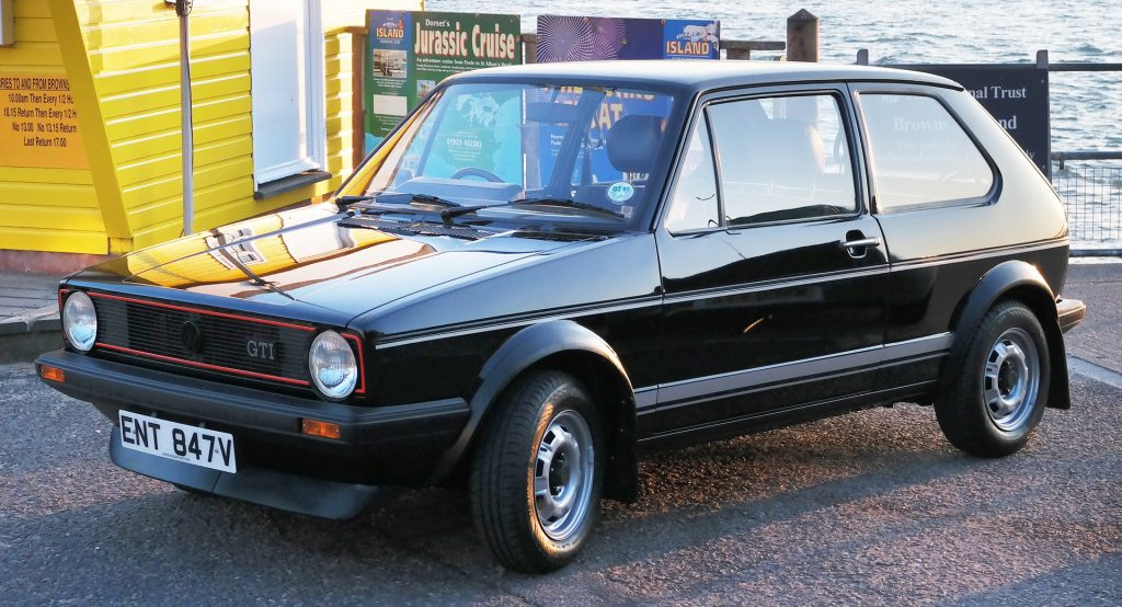 Look All You Want But You Likely Won T Find A Better Original Vw Golf Gti Mk1 On Sale Than This Carscoops