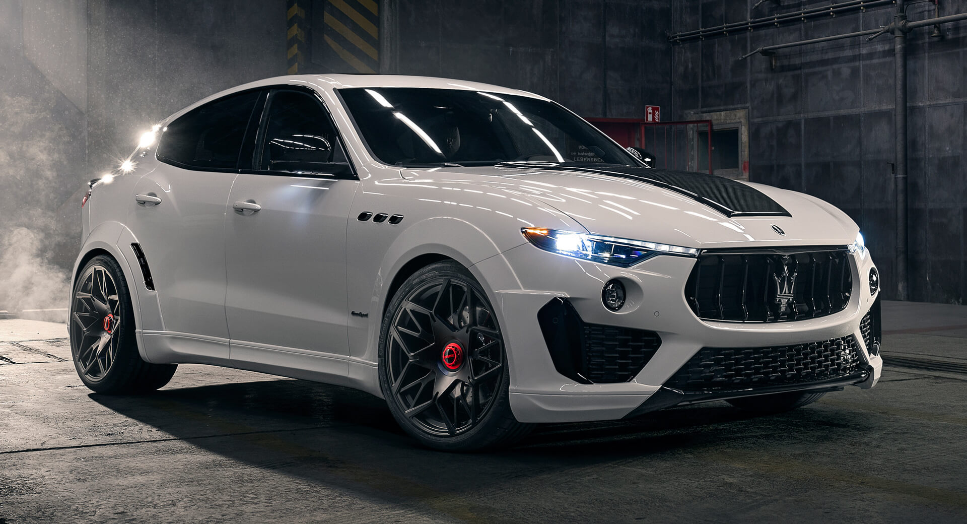 Novitec Revisits Maserati Levante Trofeo Gives It 615 Hp And Matching Looks Carscoops
