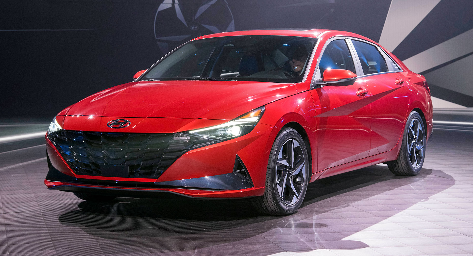2021 Hyundai Elantra Debuts With Four-Door Coupe Body, New ...