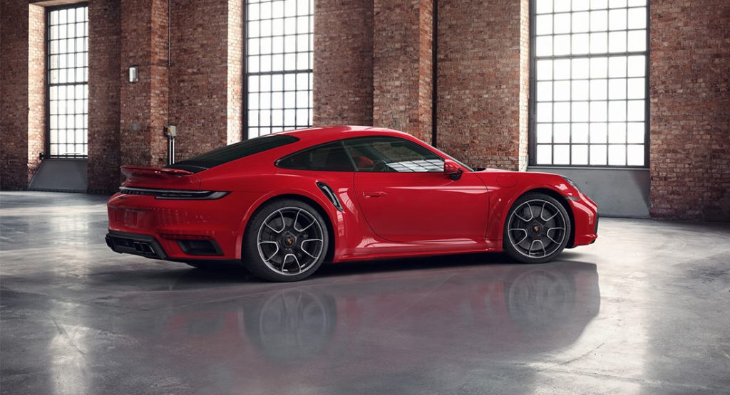 Porsche Exclusive Showcases An Indian Red 2021 911 Turbo S Carscoops