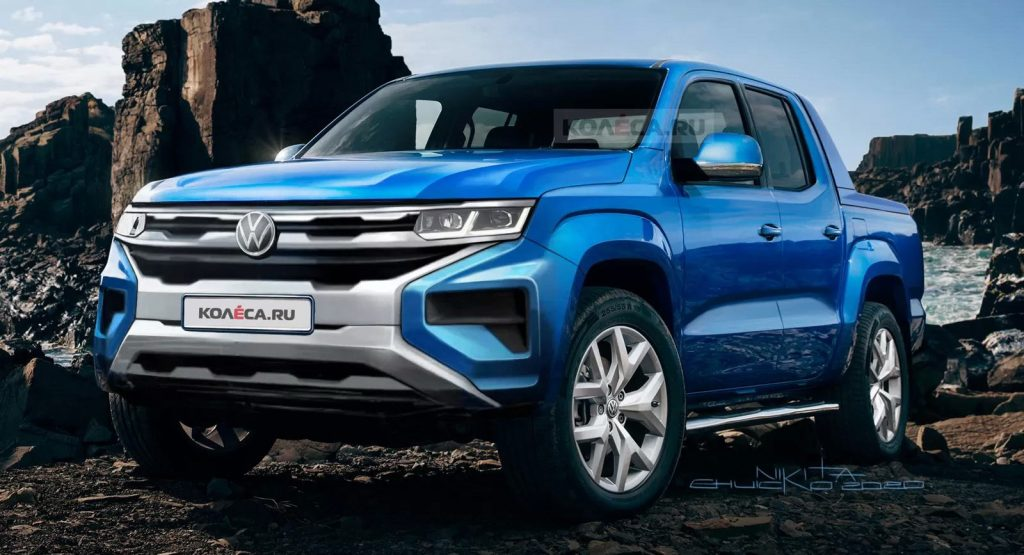 this should be it 2022 vw amarok rendered based on