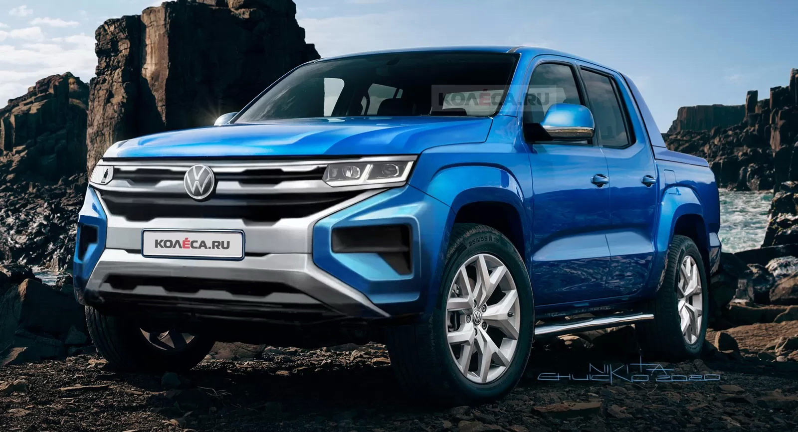 This Should Be It: 3 VW Amarok Rendered Based On Official