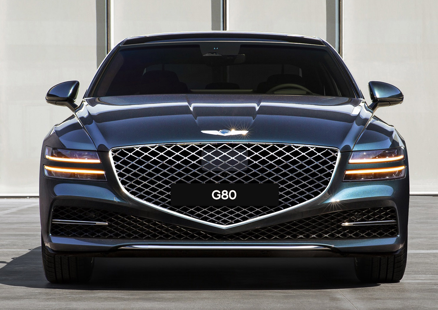 Genesis G80 sedan debuts online as coronavirus shuts auto shows