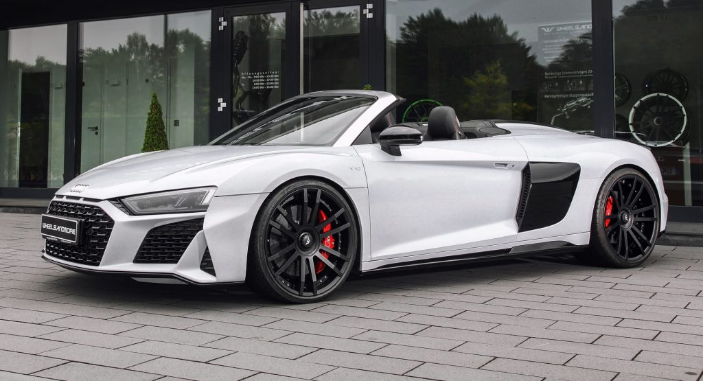 Audi R8 V10 Plus Spyder Pumped Up To 1,035 HP For Over $100,000 | Carscoops