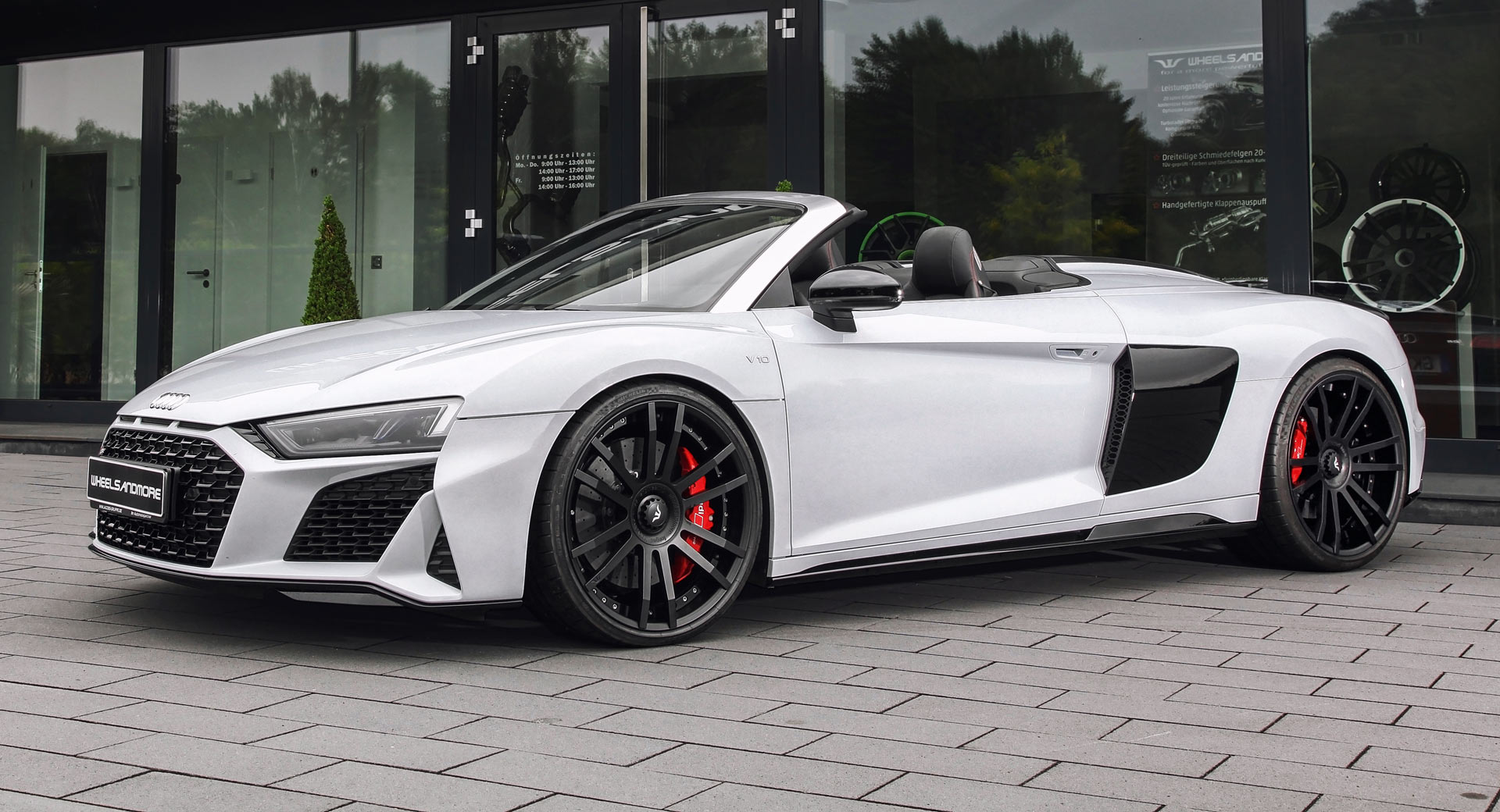 Audi R8 V10 Plus Spyder Pumped Up To 1 035 Hp For Over 100 000 Carscoops