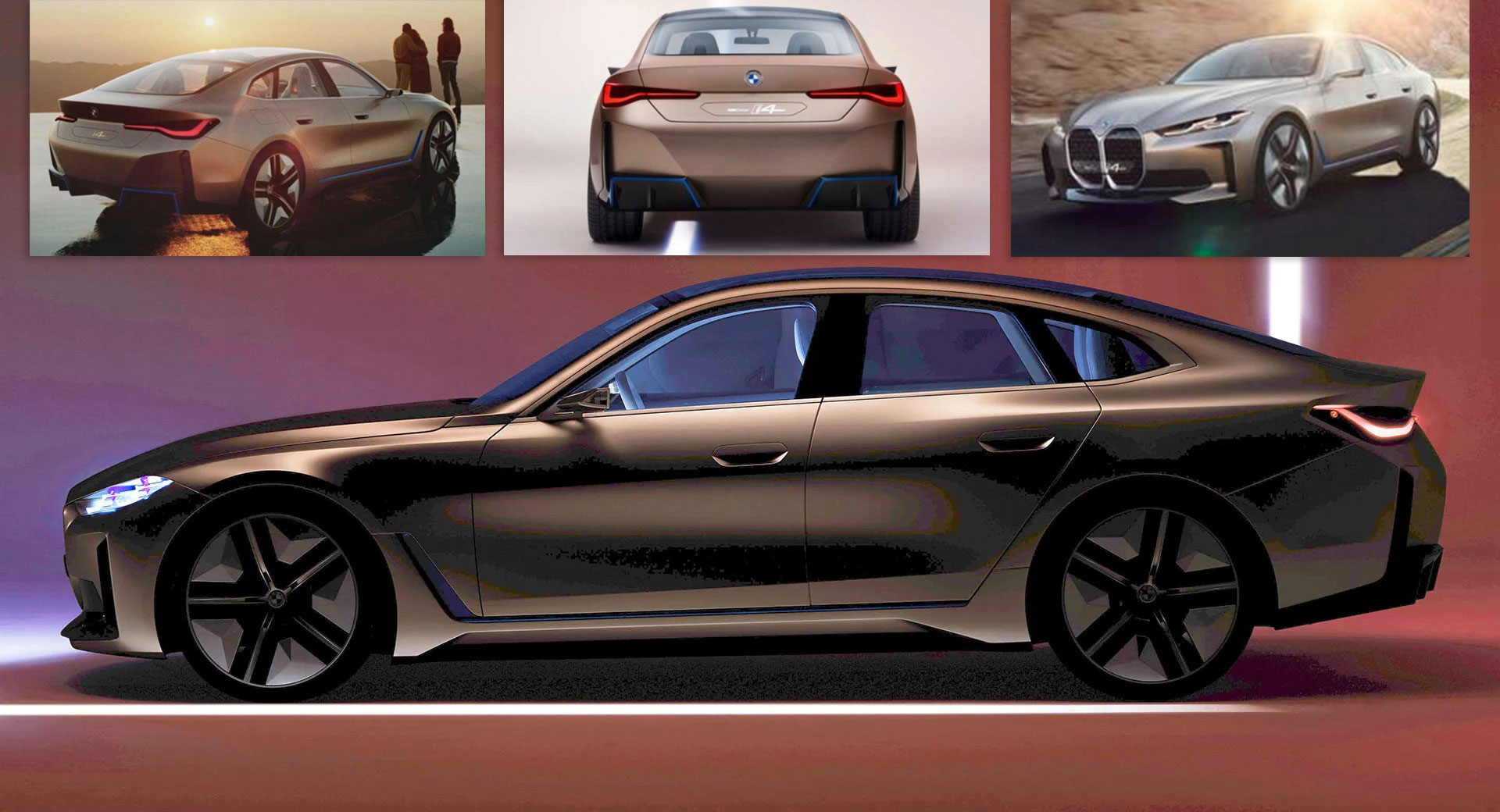 bmw u0026 39 s concept i4 is one step before production  new photos