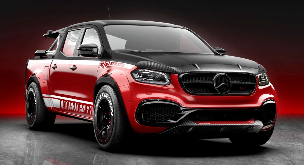 This Mercedes-Benz X-Class Was Tuned For Cycling ...
