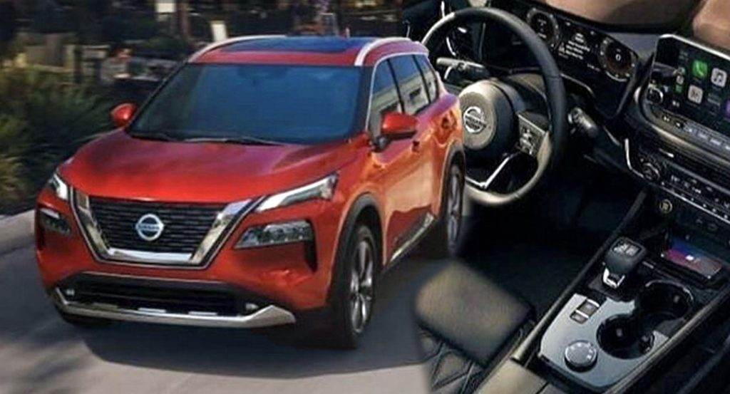 these 2021 nissan rogue xtrail photos look pretty