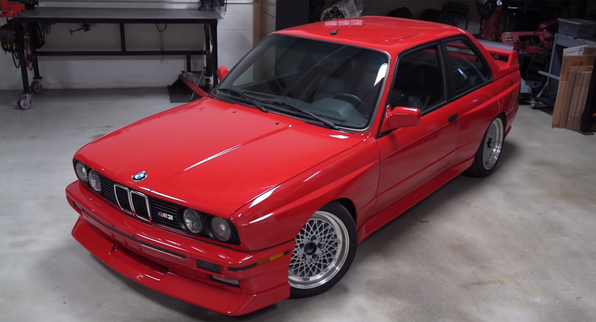 Would You Swap A Bmw E30 M3 S Four Pot For With An E46 M3 S Straight Six Carscoops