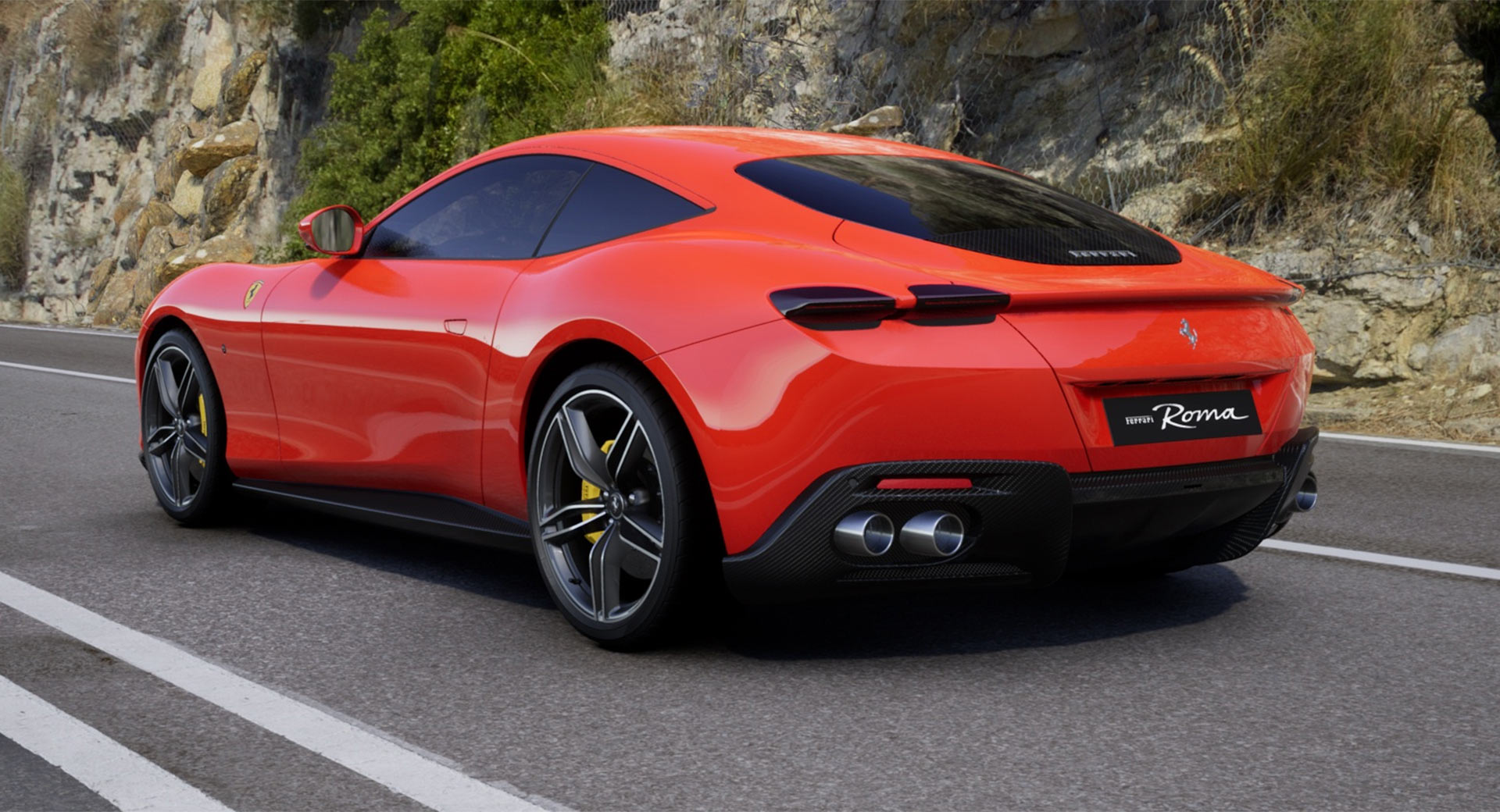 Show Us How You D Spec The Ferrari Roma With New Online Configurator Carscoops