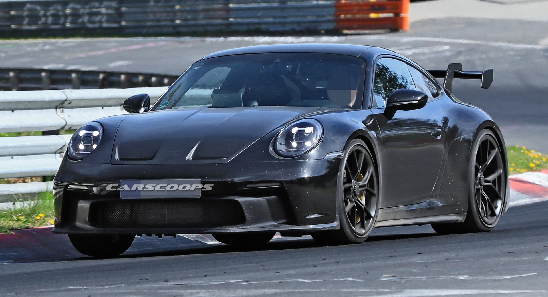 2021 911 Gt3 Most Revealing Spy Shots Yet For Porsche S New Track Weapon Carscoops