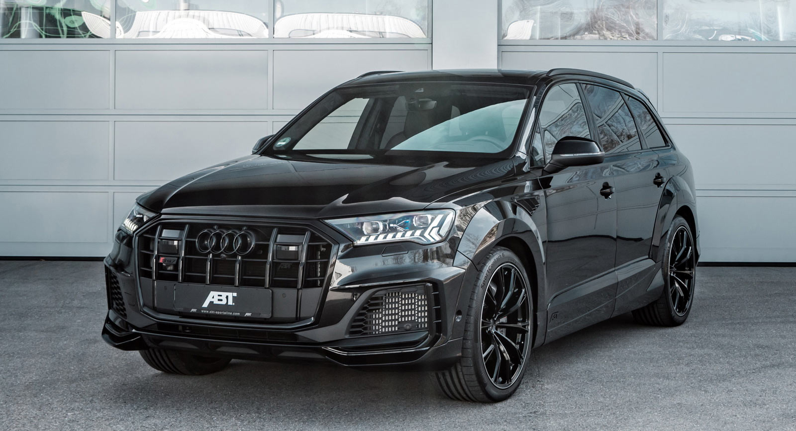 Widebody Audi Sq7 Takes Shape Thanks To Abt Sportsline Carscoops