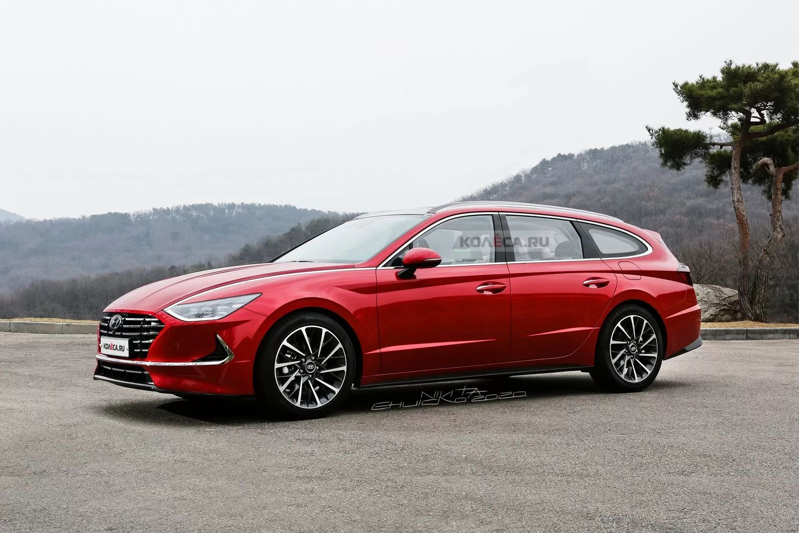 Should Hyundai Consider Building A Sonata Sports Wagon ...