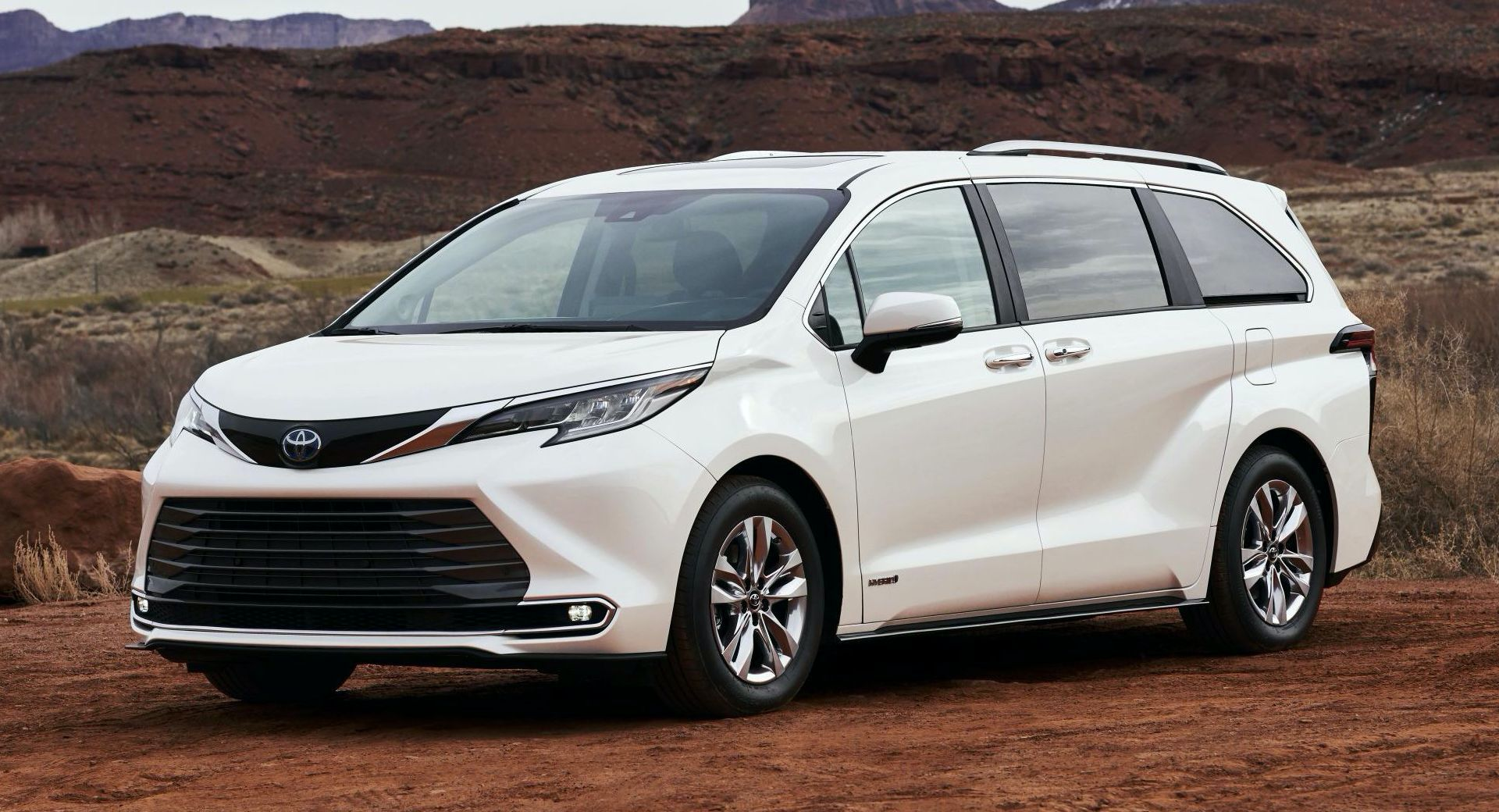 2021 toyota sienna is allnew allhybrid and as cool as