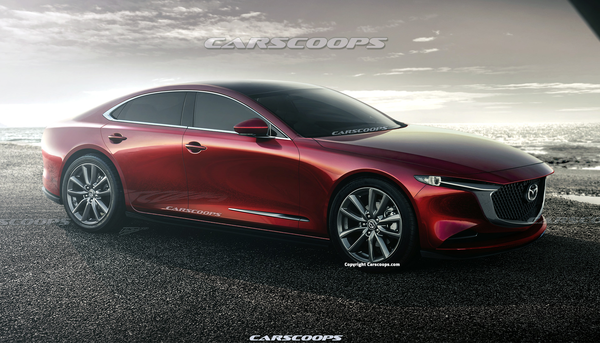 2023 mazda 6 illustrated next generation goes bmw hunting