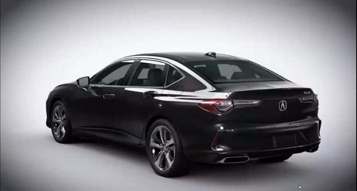 this is the new 2021 acura tlx and it looks pretty sharp