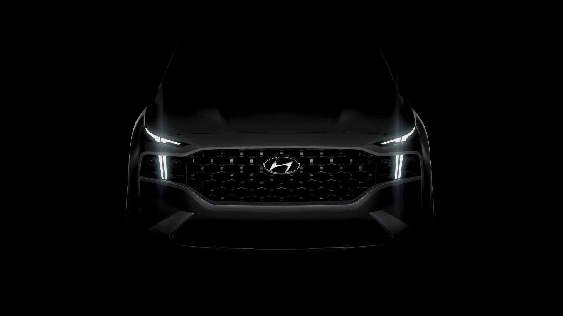 Hyundai Teases New Santa Fe SUV: PHEV Option Coming